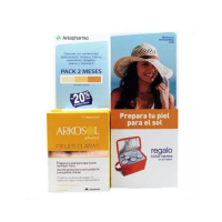 Arkosol Advance Duplo Pieles Claras 30 + 30 Perlas