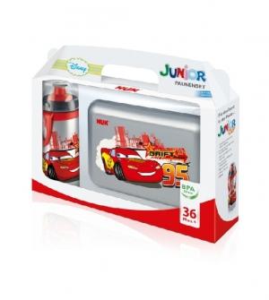 Biberón de Polipropileno (PP) Junior Cup 300 ml + portamerienda