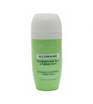 Klorane Desodorante Roll-On Altea Blanca Muy Suave, 40ml