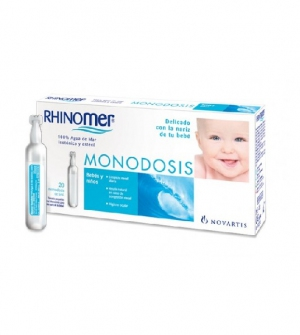 Rhinomer Monodosis, 20Monodosis
