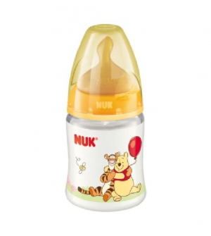 Biberon 0 Bpa First Choice Polipropileno Latex - Nuk (1M 150 Ml Disney Winnie )