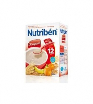 Nutriben papillas desayuno de trigo y frutas 900 gr