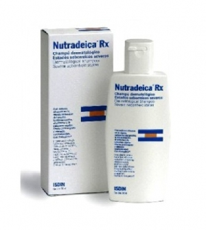 Isdin Nutradeica Champú RX Dermatol Anticaspa Severa, 200ml