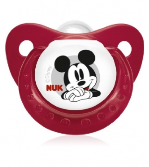 Chupete Silicona - Nukete Anatomico (Disney Mickey T-1 )