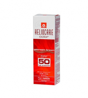Heliocare Gel Crema SPF 50 Color Brown 50ml