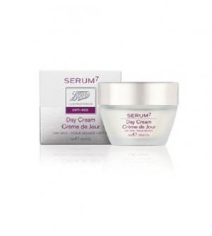 Serum7 Crema Día Protectora SPF15 Anti-Arrugas Piel Seca,50ml
