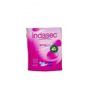 Compresa Perdidas Leves - Indasec (Extra 20 U )