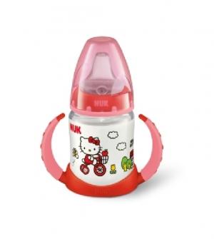 Biberon 0 Bpa First Choice Silicona - Nuk Entrena (150 Ml Hello Kitty )