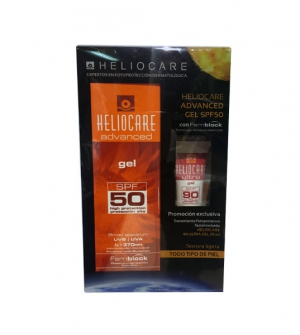 Heliocare Advanced Gel SPF 50 200 ml + Ultra Gel SPF 90 25 ml