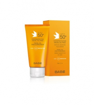 Babe Fotoprotector Facial 50+ Oil Free 50 ml