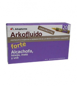 Arkofluido Alcachofa Forte 20 unidosis