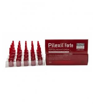 Pilexil Forte Ampollas Anticaída, 15 amp x 5ml