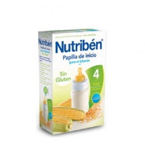 Nutriben papillas sin gluten, inicio para el biberon 600 gr