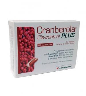 Cranberola Cis-Control Plus 60 Cápsulas