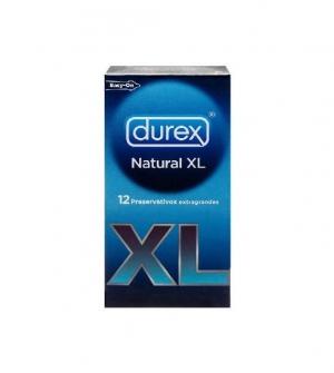 Durex Natural XL Easy On 12 uds