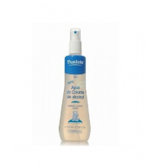 Mustela Agua de Colonia Bebé Sin Alcohol, 200ml