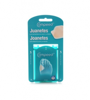 Compeed Apósitos para Juanetes, 5 unidades 4,7x6,8cm