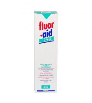 Fluor·Aid 250 Pasta dentífrica  sabor menta 100 ml
