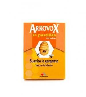 Arkovox Pastillas miel-limon