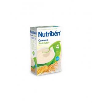 Nutriben papillas sin gluten, cereales sin gluten 600 gr
