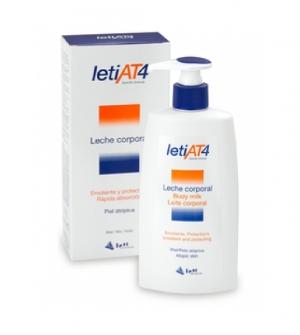 LetiAT4® leche corporal 250 ml Pieles atopicas o secas