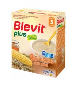 Ordesa Blevit Plus 8 Cereales Con Miel 600 gr