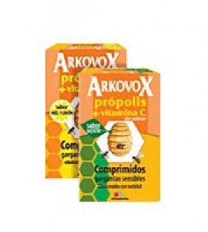 Arkovox Comprimidos 24 comp. Sabor miel y limon