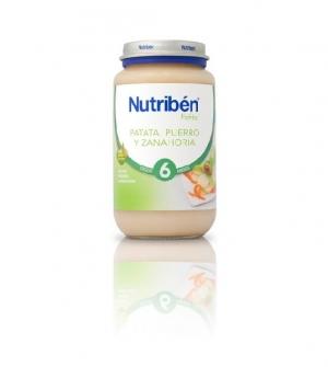 Nutriben potitos verduras 250 gr patata, puerro y zanahoria