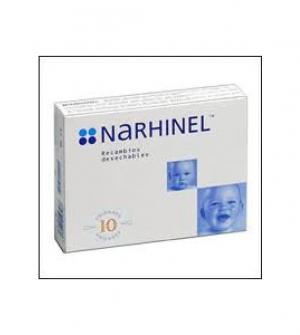 Narhinel recambios desechables 10 uds