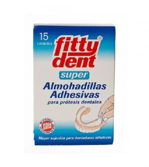Fittydent Super Almohadillas Adhesivas 15 udes
