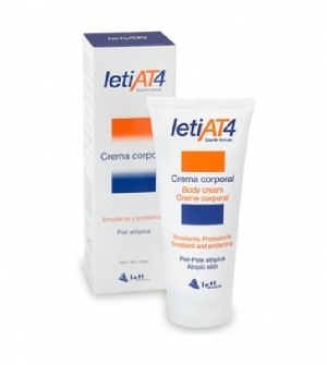 LetiAT4® crema corporal 200 ml pieles atopicas o secas