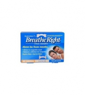 Breathe Right Pequeño 30 uds. Tira Nasal