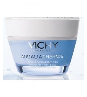 Vichy Aqualia Hidratante Rica Tarro, 50ml