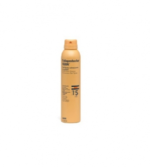 Isdin Fotoprotector SPF15 Gel Transparente Spray, 200ml