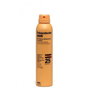 Isdin Fotoprotector SPF25 Gel Transparente Spray, 200ml