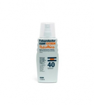 Isdin Fotoprotector Extrem SPF40 Spray Locion Pediátrico, 200ml