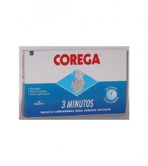 Corega 3 min Oxígeno Activo 30 tabletas