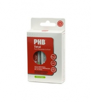 Pack PHB Recambio 3 pastas PHB Total 15 ml