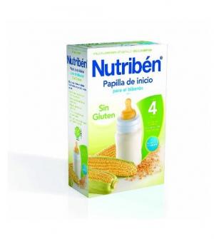 Nutriben papillas sin gluten, inicio para el biberon 300 gr
