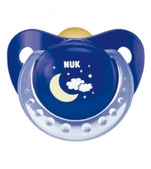 Chupete Latex - Nukete (Noche y dia Surtido T-3 2 U )