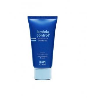 Isdin Lambda Control Desodorante Crema Antitranspirante, 50ml