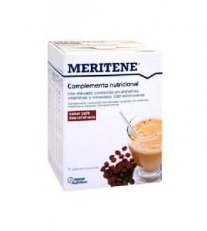 Meritene Polvo café descafeinado 15 sobres x 30 gr