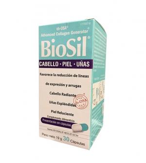 Biosil Colágeno 30 Cápsulas