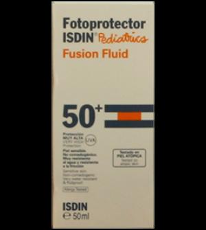 Isdin Fotoprotector Extrem SPF 50+ Pediátrico Fusión Fluido, 50ml