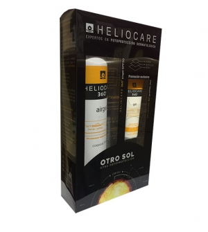 Heliocare 360º Airgel SPF 50+ 200 ml + Heliocare 360 gel 50+ 25 ml