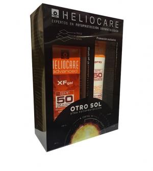 Heliocare Fusión Gel XF SPF50+  50ml + Heliocare spray 50+ 75 ml