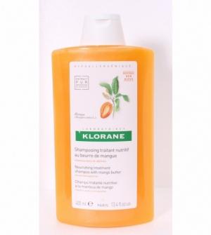 Klorane Champú Nutritivo a la Manteca de Mango, 400ml