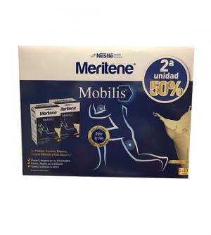 Meritene Mobilis 2 x 10 sobres vainilla (2ª unidad 50 % descuento)