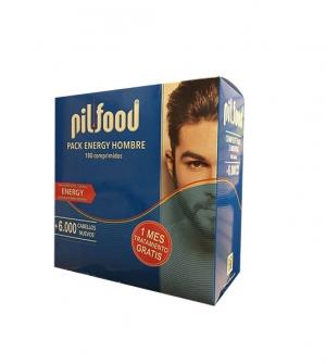 Pilfood pack tres meses hombre 180 comp. (1 mes gratis)