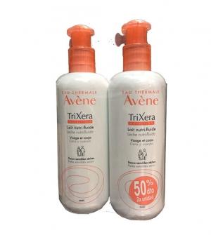 Avene Trixera duplo leche nutri-fluida 2 x 400 ml